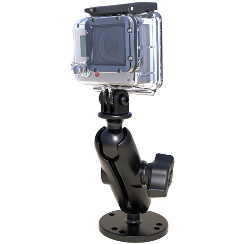 "RAM Mount 1"" Ball Mount w\/Custom GoPro Hero Adapter"