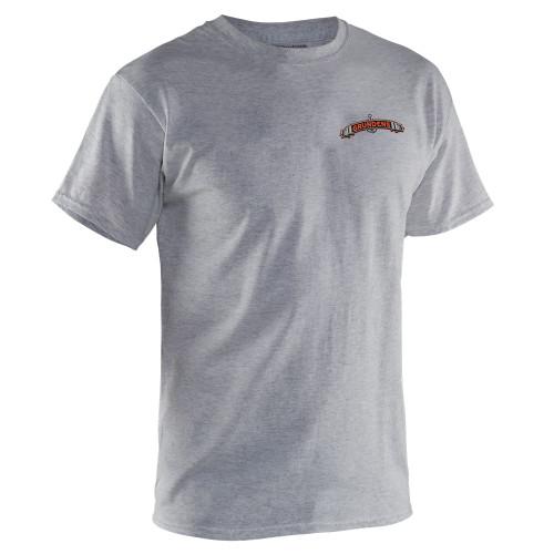 Grundens Classic Billfish T-Shirt Heather Gray