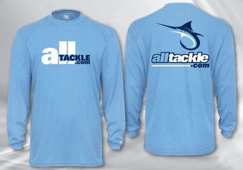 Alltackle.com Logo Performance Long Sleeve Shirt