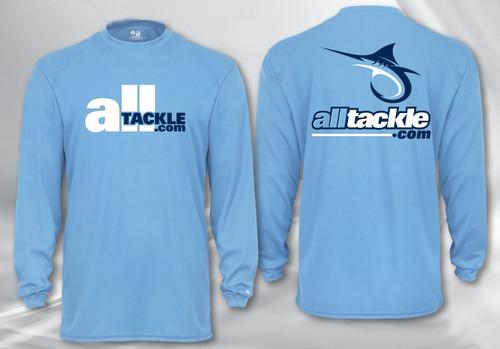 Alltackle.com Logo Performance Long Sleeve Shirt