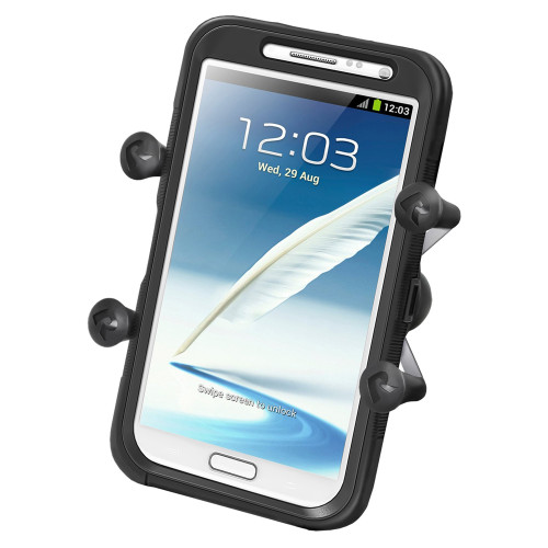 "RAM Mount Universal X-Grip IV Large Phone\/Phablet Holder w\/1"" Ball"