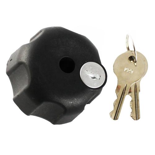 """RAM Mount Knob w\/Lock & 5\/16""""-18 Brass Hole - C-Size"""