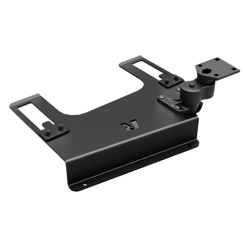 RAM Mount No-Drill Laptop Base f\/Chevy Silverado 1500\/2500\/3500, Suburban, Tahoe, GMC Sierra 1500\/2500\/3500