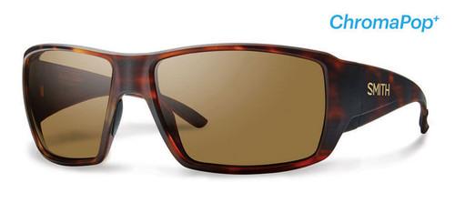 Smith Optics Sunglasses - Guide's Choice - Matte Havana Frame - ChromaPop PLUS Polarized Brown Lens