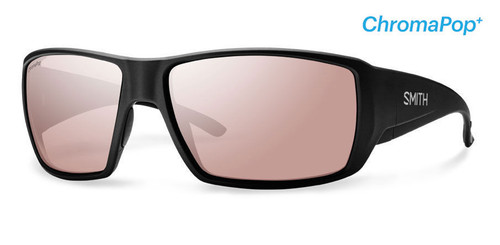Smith Optics Sunglasses - Guide's Choice - Matte Black Frame - ChromaPop PLUS Polarchromic Ignitor Lens
