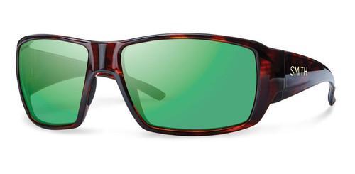 Smith Optics Sunglasses - Guide's Choice - Havana Frame - Techlite Polarized Green Mirror Lens