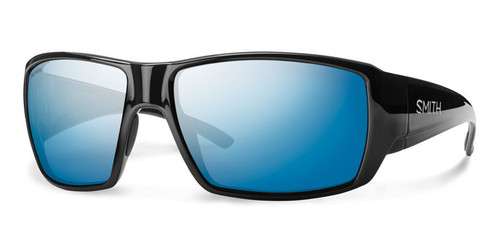Smith Optics Sunglasses - Guide's Choice - Black Frame - Techlite Polarized Blue Mirror Lens