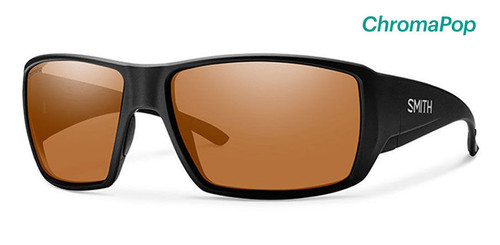 Smith Optics Sunglasses - Guide's Choice - Matte Black Frame - ChromaPop Polarized Copper Lens