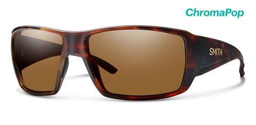 Smith Optics Sunglasses - Guide's Choice - Matte Havana Frame -ChromaPop Glass Polarized Brown Lens