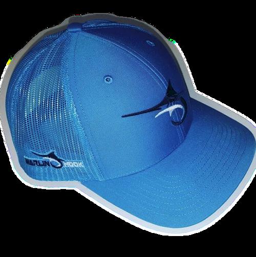 Marlin Hook Trucker Hat - Symbol - All Royal