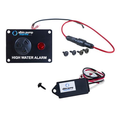 Albin Pump Digital High Water Alarm - 12V