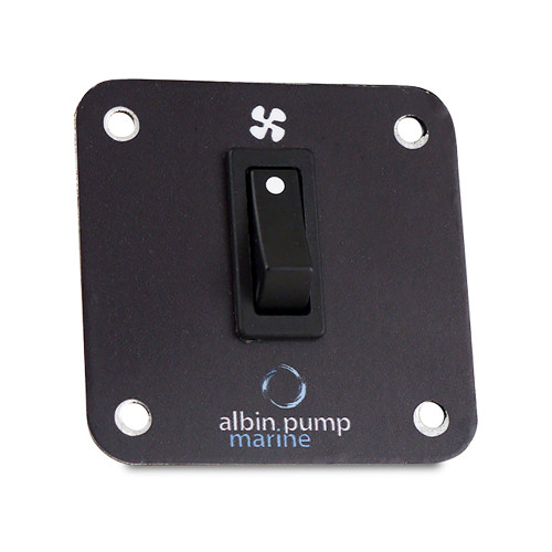 Albin Pump Control Panel 2kW - 12V