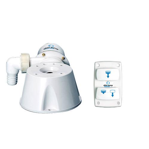 Albin Pump Marine Silent Electric Toilet Kit - 12V
