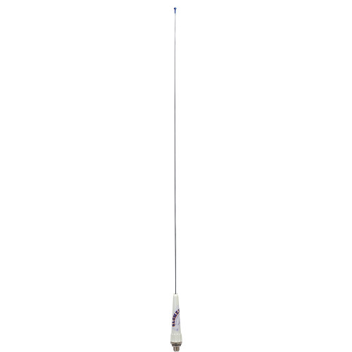 """Glomex 35"""" Classic Stainless Steel VHF 3dB Sailboat Antenna w\/Bracket  PL-259 Connector - No Cable"""