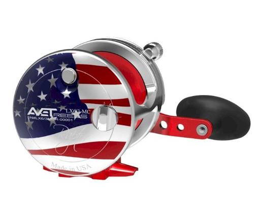 Avet Reels - LX 6/3 Raptor MC 2-Speed Patriot