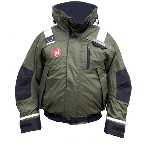 First Watch AB-1100 Pro Bomber Jacket - Large - Green