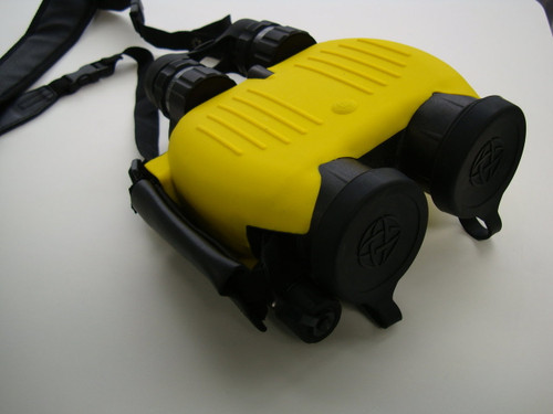 Fraser Optics S250 Binoculars Yellow w/ Hard Case