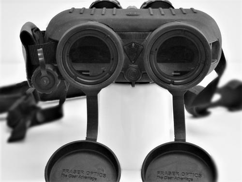 Fraser Optics S250 Binoculars Black w/ Hard Case