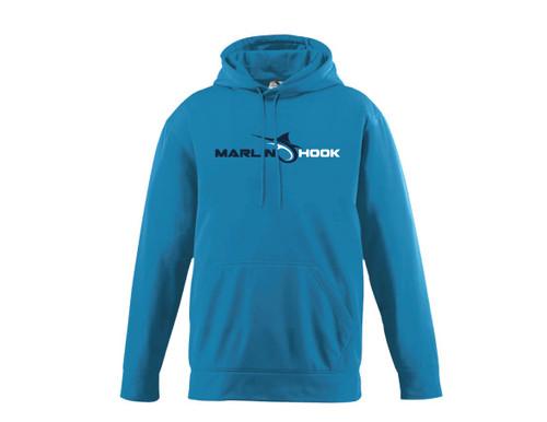 Marlin Hook Performance Hoodie - Electric Blue