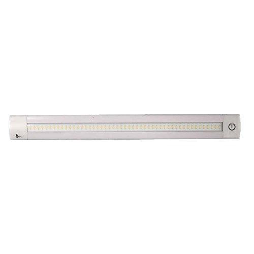 "Lunasea Adjustable Linear LED Light w\/Built-In Dimmer - 12"" Warm White w\/Switch"