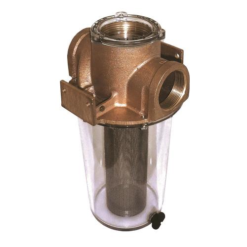 "GROCO ARG-1250 Series 1-1\/4"" Raw Water Strainer w\/Stainless Steel Basket"