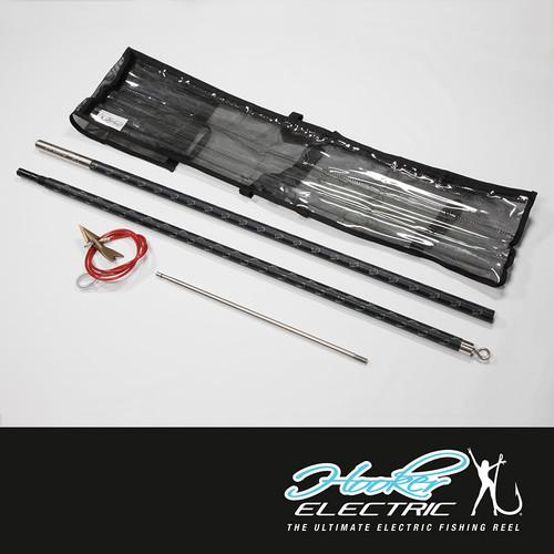 Hooker Electric Commercial Harpoon - 8' Black 2 Piece
