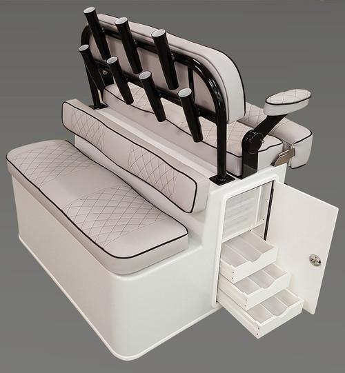 Nautical Design Battle Station w/ Dual Bolster Seats