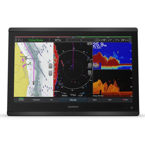 "Garmin GPSMAP 8416xsv 16"" Chartplotter\/Sounder Combo w\/Worldwide Basemap  Sonar"
