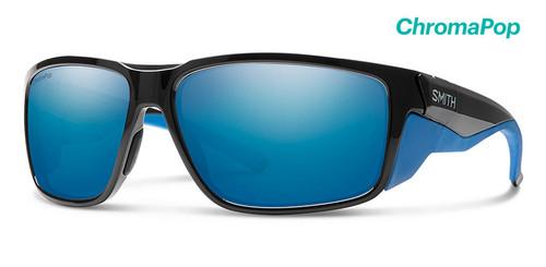 Smith Optics Sunglasses - Freespool MAG - ChromoPop Polarized Blue Mirror - Black Imperial Blue Frames