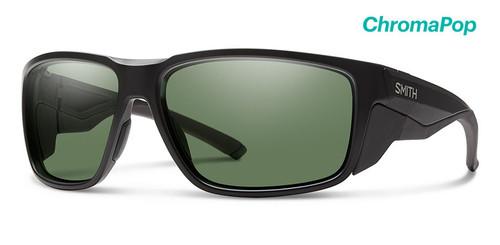 Smith Optics Sunglasses - Freespool MAG - ChromoPop Polarized Gray Green Lens - Matte Black Frames