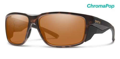 Smith Optics Sunglasses - Freespool MAG - ChromoPop Polarized Bronze Mirror Lens - Matte Gravy Frames