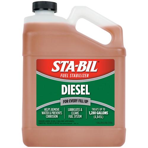 STA-BIL Diesel Formula Fuel Stabilizer  Performance Improver - 1 Gallon *Case of 4*