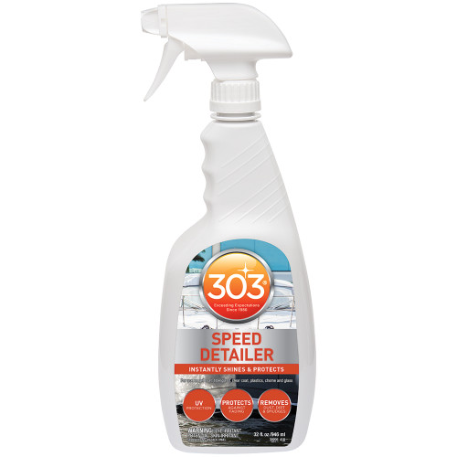 303 Marine Speed Detailer with Trigger Sprayer - 32oz *Case of 6*