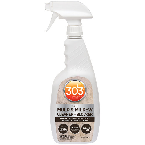 303 Mold  Mildew Cleaner  Blocker with Trigger Sprayer - 32oz *Case of 6*
