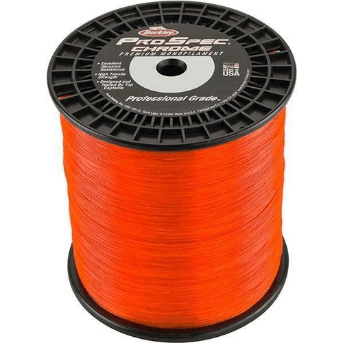 Berkely ProSpec Chrome Blaze Orange Bulk Spool