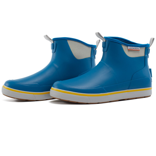 Grundens DECK-BOSS Ankle Boot -Aegean Blue