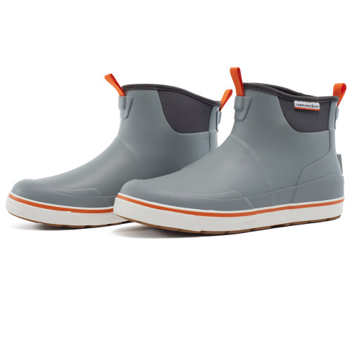Grundens DECK-BOSS Ankle Boot - Monument Gray