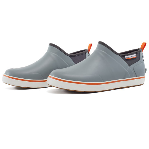 Grundens DECK-BOSS Slip Ons - Monument Gray- Size 11
