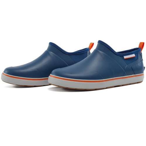 Grundens DECK-BOSS Slip Ons - Deep Water Blue