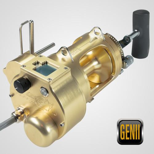 Hooker Gen II Electric Reel Combo Includes Shimano® Tiagra® 50WLRSA