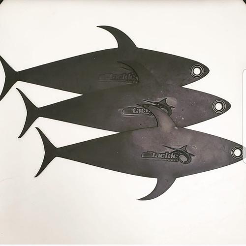 "Alltackle Dredge Flap - 12"" Tuna - 3 Pack"