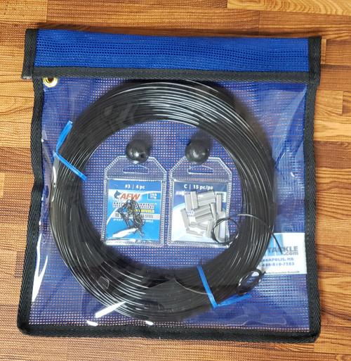 Alltackle Outrigger Rigging Line Kit - Black