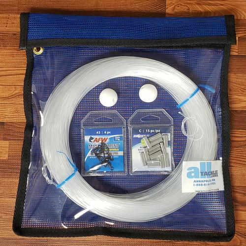 Alltackle Outrigger Rigging Line Kit - Clear