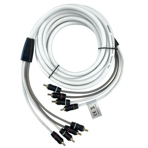 FUSION EL-FRCA12 12 Standard 4-Way RCA Cable