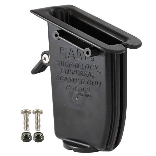 RAM Mount RAM Drop-N-Lock Scanner Gun Holder