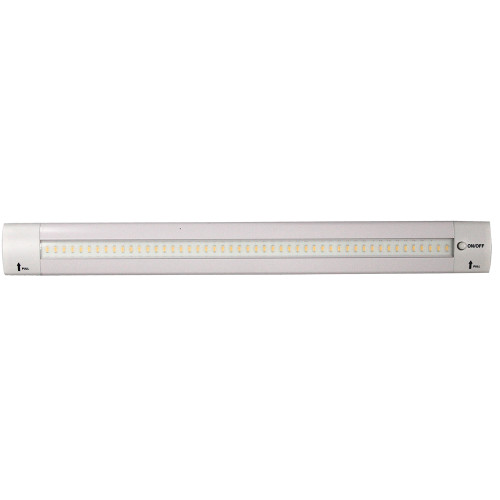 "Lunasea 12"" Adjustable Angle LED Light Bar - w\/Push Button Switch - 12VDC - Warm White"