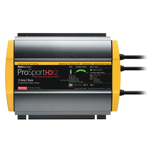 ProMariner ProSportHD 12 Global Gen 4 - 12 Amp - 2 Bank Battery Charger