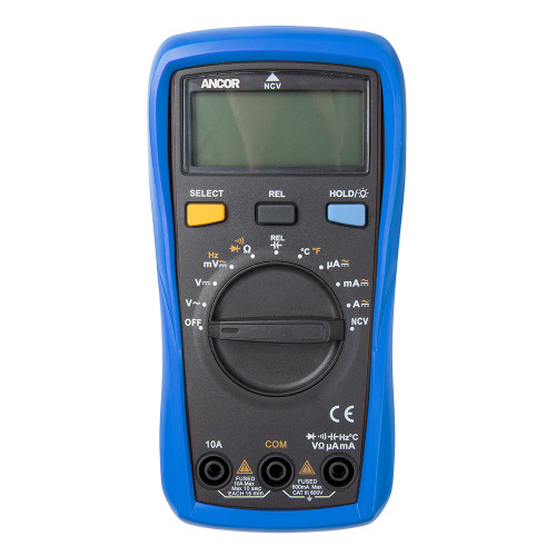 Ancor True RMS 12 Function Digital Multimeter