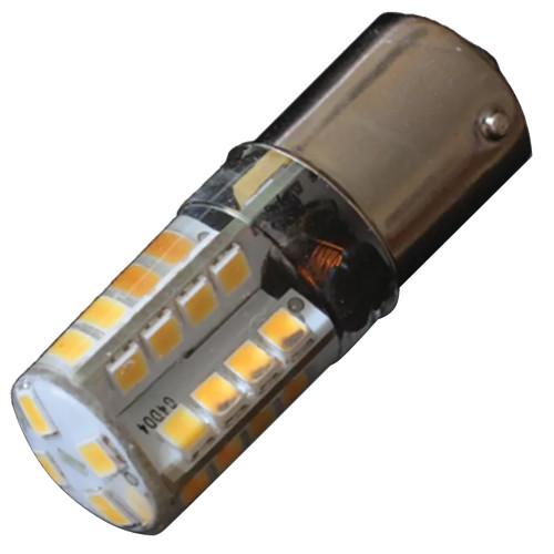 Lunasea BA15S Silicone Encapsulated LED Light Bulb - 10-30 VDC - 220 Lumen - Cool White