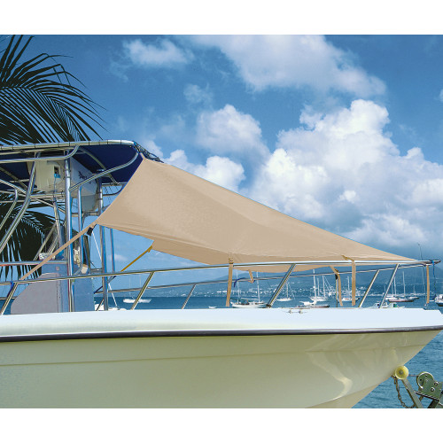 """Taylor Made T-Top Bow Shade 7L x 102""""W - Sand"""
